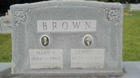 BROWN, LEMUEL J - Dallas County, Arkansas | LEMUEL J BROWN - Arkansas Gravestone Photos