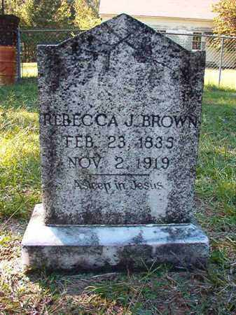 BROWN, REBECCA J - Dallas County, Arkansas | REBECCA J BROWN - Arkansas Gravestone Photos