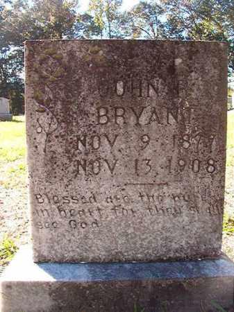 BRYANT, JOHN R - Dallas County, Arkansas | JOHN R BRYANT - Arkansas Gravestone Photos
