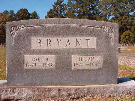 BRYANT, LILLIAN E - Dallas County, Arkansas | LILLIAN E BRYANT - Arkansas Gravestone Photos