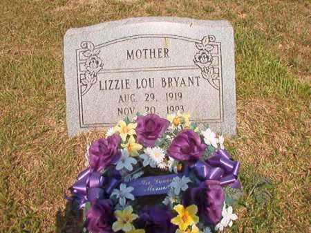 BRYANT, LIZZIE LOU - Dallas County, Arkansas   LIZZIE LOU BRYANT - Arkansas Gravestone Photos