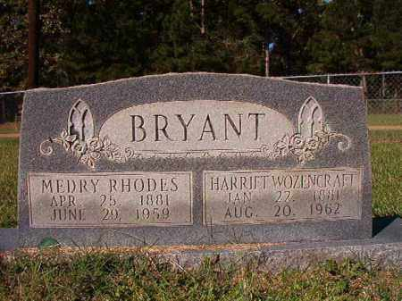 WOZENCRAFT BRYANT, HARRIET - Dallas County, Arkansas | HARRIET WOZENCRAFT BRYANT - Arkansas Gravestone Photos