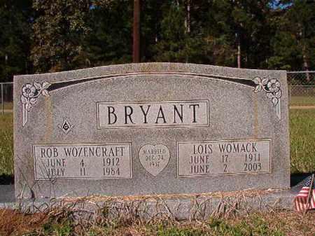 WOMACK BRYANT, LOIS - Dallas County, Arkansas | LOIS WOMACK BRYANT - Arkansas Gravestone Photos