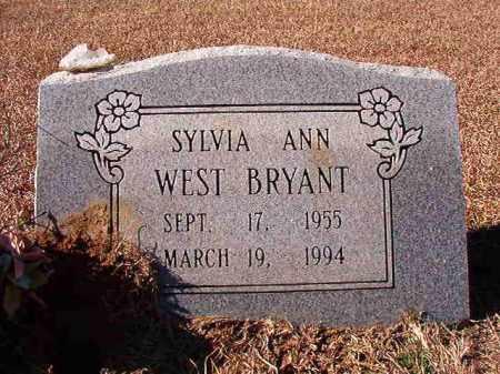 BRYANT, SYLVIA ANN - Dallas County, Arkansas   SYLVIA ANN BRYANT - Arkansas Gravestone Photos