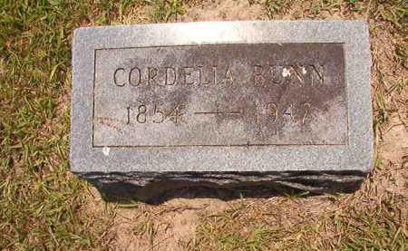BUNN, CORDELIA - Dallas County, Arkansas | CORDELIA BUNN - Arkansas Gravestone Photos