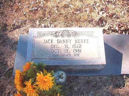 BURKE, JACK DANNY - Dallas County, Arkansas | JACK DANNY BURKE - Arkansas Gravestone Photos