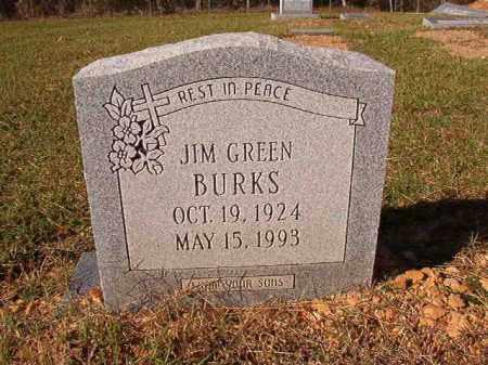BURKS, JIM GREEN - Dallas County, Arkansas   JIM GREEN BURKS - Arkansas Gravestone Photos
