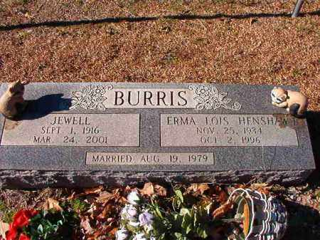 BURRIS, ERMA LOIS - Dallas County, Arkansas | ERMA LOIS BURRIS - Arkansas Gravestone Photos
