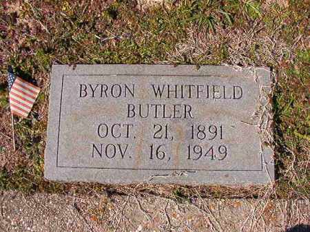 BUTLER, BYRON WHITFIELD - Dallas County, Arkansas | BYRON WHITFIELD BUTLER - Arkansas Gravestone Photos