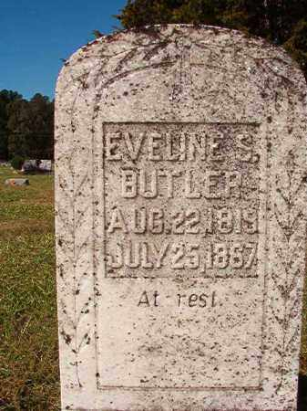 BUTLER, EVELINE S - Dallas County, Arkansas   EVELINE S BUTLER - Arkansas Gravestone Photos