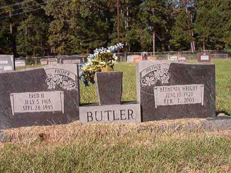 WRIGHT BUTLER, BETHUNIA - Dallas County, Arkansas | BETHUNIA WRIGHT BUTLER - Arkansas Gravestone Photos