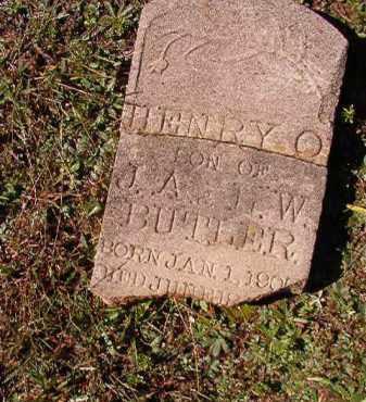 BUTLER, HENRY O - Dallas County, Arkansas   HENRY O BUTLER - Arkansas Gravestone Photos