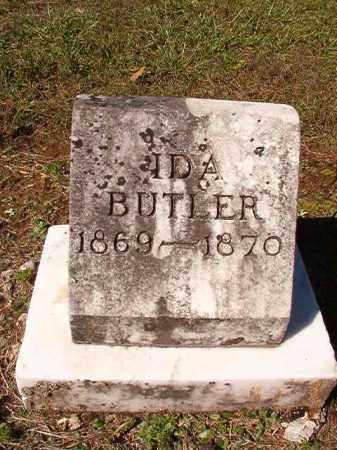 BUTLER, IDA - Dallas County, Arkansas | IDA BUTLER - Arkansas Gravestone Photos