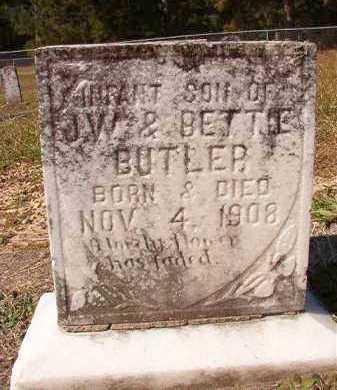 BUTLER, INFANT SON - Dallas County, Arkansas   INFANT SON BUTLER - Arkansas Gravestone Photos