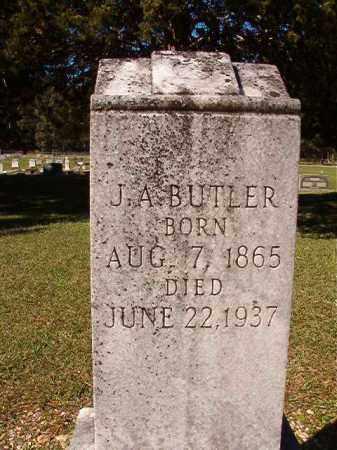 BUTLER, J A - Dallas County, Arkansas   J A BUTLER - Arkansas Gravestone Photos