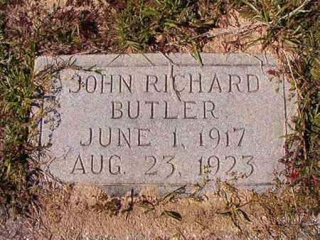 BUTLER, JOHN RICHARD - Dallas County, Arkansas | JOHN RICHARD BUTLER - Arkansas Gravestone Photos