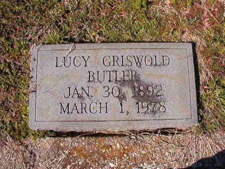 GRISWOLD BUTLER, LUCY - Dallas County, Arkansas | LUCY GRISWOLD BUTLER - Arkansas Gravestone Photos