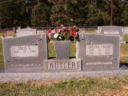BUTLER, THELMA LOUISE - Dallas County, Arkansas   THELMA LOUISE BUTLER - Arkansas Gravestone Photos
