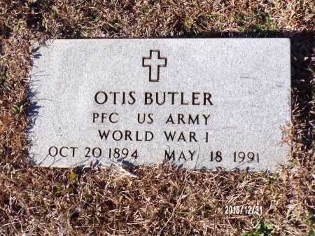 BUTLER (VETERAN WWI), OTIS - Dallas County, Arkansas   OTIS BUTLER (VETERAN WWI) - Arkansas Gravestone Photos