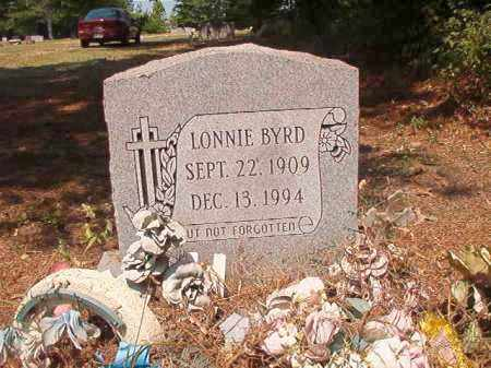 BYRD, LONNIE - Dallas County, Arkansas | LONNIE BYRD - Arkansas Gravestone Photos