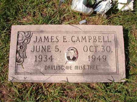 CAMPBELL, JAMES E - Dallas County, Arkansas | JAMES E CAMPBELL - Arkansas Gravestone Photos