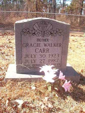 WALKER CARR, GRACIE - Dallas County, Arkansas | GRACIE WALKER CARR - Arkansas Gravestone Photos