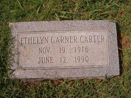 GARNER CARTER, ETHELYN - Dallas County, Arkansas | ETHELYN GARNER CARTER - Arkansas Gravestone Photos
