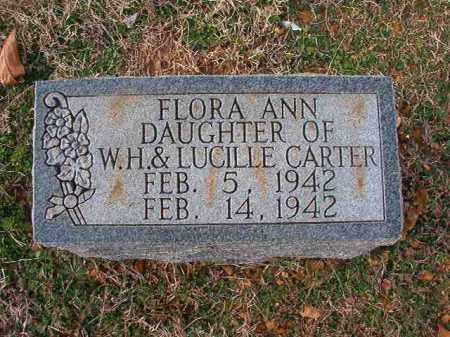 CARTER, FLORA ANN - Dallas County, Arkansas | FLORA ANN CARTER - Arkansas Gravestone Photos