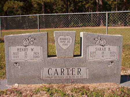 CARTER, SARAH B - Dallas County, Arkansas | SARAH B CARTER - Arkansas Gravestone Photos