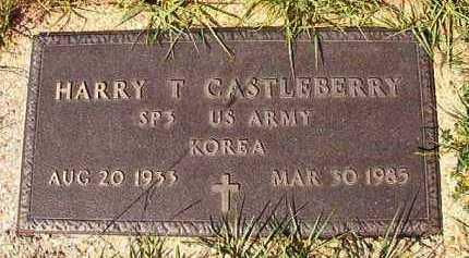 CASTLEBERRY (VETERAN KOR), HARRY T - Dallas County, Arkansas | HARRY T CASTLEBERRY (VETERAN KOR) - Arkansas Gravestone Photos