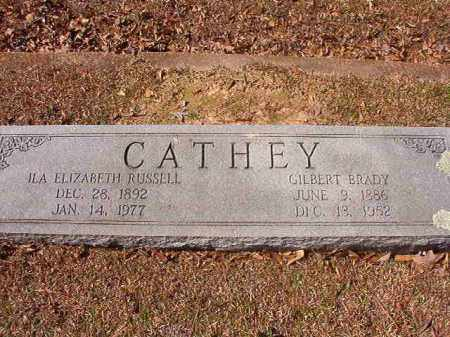 RUSSELL CATHEY, ILA ELIZABETH - Dallas County, Arkansas | ILA ELIZABETH RUSSELL CATHEY - Arkansas Gravestone Photos