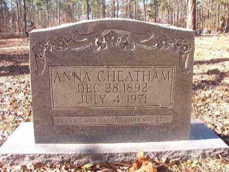 CHEATHAM, ANNA - Dallas County, Arkansas | ANNA CHEATHAM - Arkansas Gravestone Photos