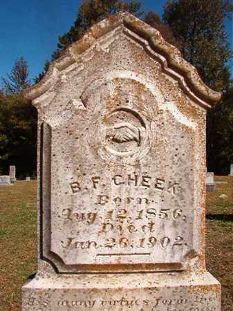 CHEEK, B F - Dallas County, Arkansas | B F CHEEK - Arkansas Gravestone Photos