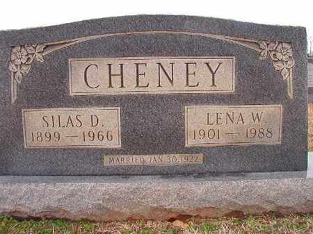 CHENEY, SILAS D - Dallas County, Arkansas | SILAS D CHENEY - Arkansas Gravestone Photos