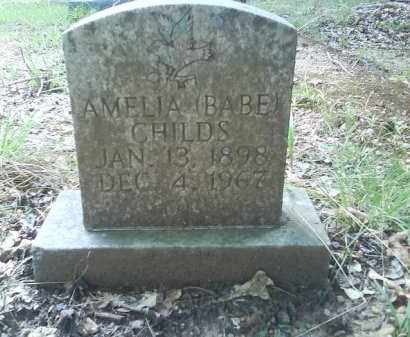 CHILDS, AMELIA BABE - Dallas County, Arkansas | AMELIA BABE CHILDS - Arkansas Gravestone Photos