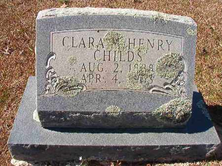 HENRY CHILDS, CLARA M - Dallas County, Arkansas | CLARA M HENRY CHILDS - Arkansas Gravestone Photos