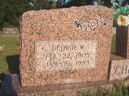 CHITTUM, GEORGE W - Dallas County, Arkansas | GEORGE W CHITTUM - Arkansas Gravestone Photos