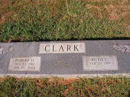 CLARK, ROBERT H - Dallas County, Arkansas | ROBERT H CLARK - Arkansas Gravestone Photos