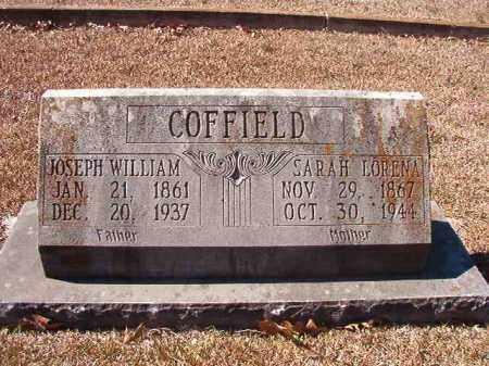 COFFIELD, JOSEPH WILLIAM - Dallas County, Arkansas   JOSEPH WILLIAM COFFIELD - Arkansas Gravestone Photos