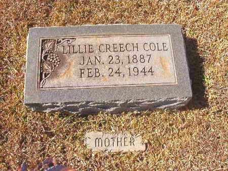 COLE, LILLIE - Dallas County, Arkansas   LILLIE COLE - Arkansas Gravestone Photos