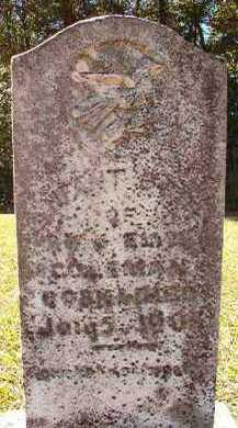 COLEMAN, INFANT SON - Dallas County, Arkansas | INFANT SON COLEMAN - Arkansas Gravestone Photos