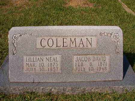 NEAL COLEMAN, LILLIAN - Dallas County, Arkansas | LILLIAN NEAL COLEMAN - Arkansas Gravestone Photos