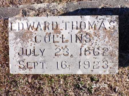 COLLINS, EDWARD THOMAS - Dallas County, Arkansas   EDWARD THOMAS COLLINS - Arkansas Gravestone Photos