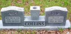 COLLINS, REV, ALEX LEE - Dallas County, Arkansas | ALEX LEE COLLINS, REV - Arkansas Gravestone Photos