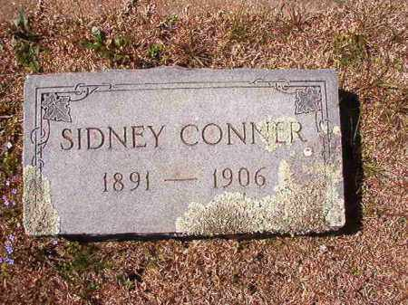 CONNER, SIDNEY - Dallas County, Arkansas | SIDNEY CONNER - Arkansas Gravestone Photos