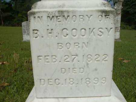 COOKSY, B H (CLOSEUP) - Dallas County, Arkansas   B H (CLOSEUP) COOKSY - Arkansas Gravestone Photos