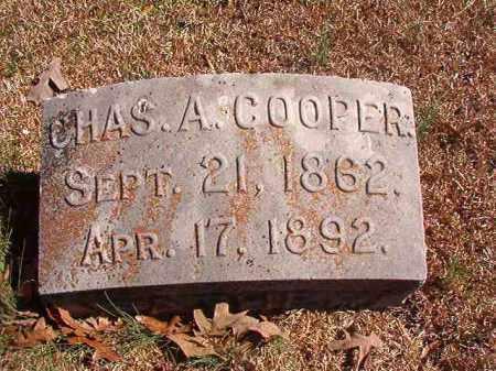 COOPER, CHAS A - Dallas County, Arkansas | CHAS A COOPER - Arkansas Gravestone Photos