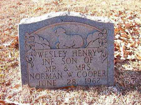 COOPER, WESLEY HENRY - Dallas County, Arkansas | WESLEY HENRY COOPER - Arkansas Gravestone Photos
