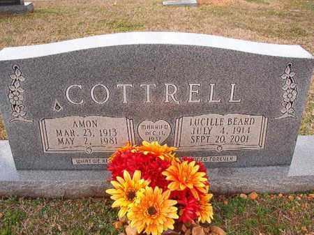 BEARD COTTRELL, LUCILLE - Dallas County, Arkansas   LUCILLE BEARD COTTRELL - Arkansas Gravestone Photos