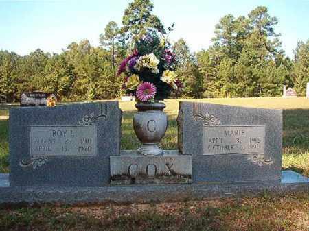 COX, MARIE - Dallas County, Arkansas | MARIE COX - Arkansas Gravestone Photos